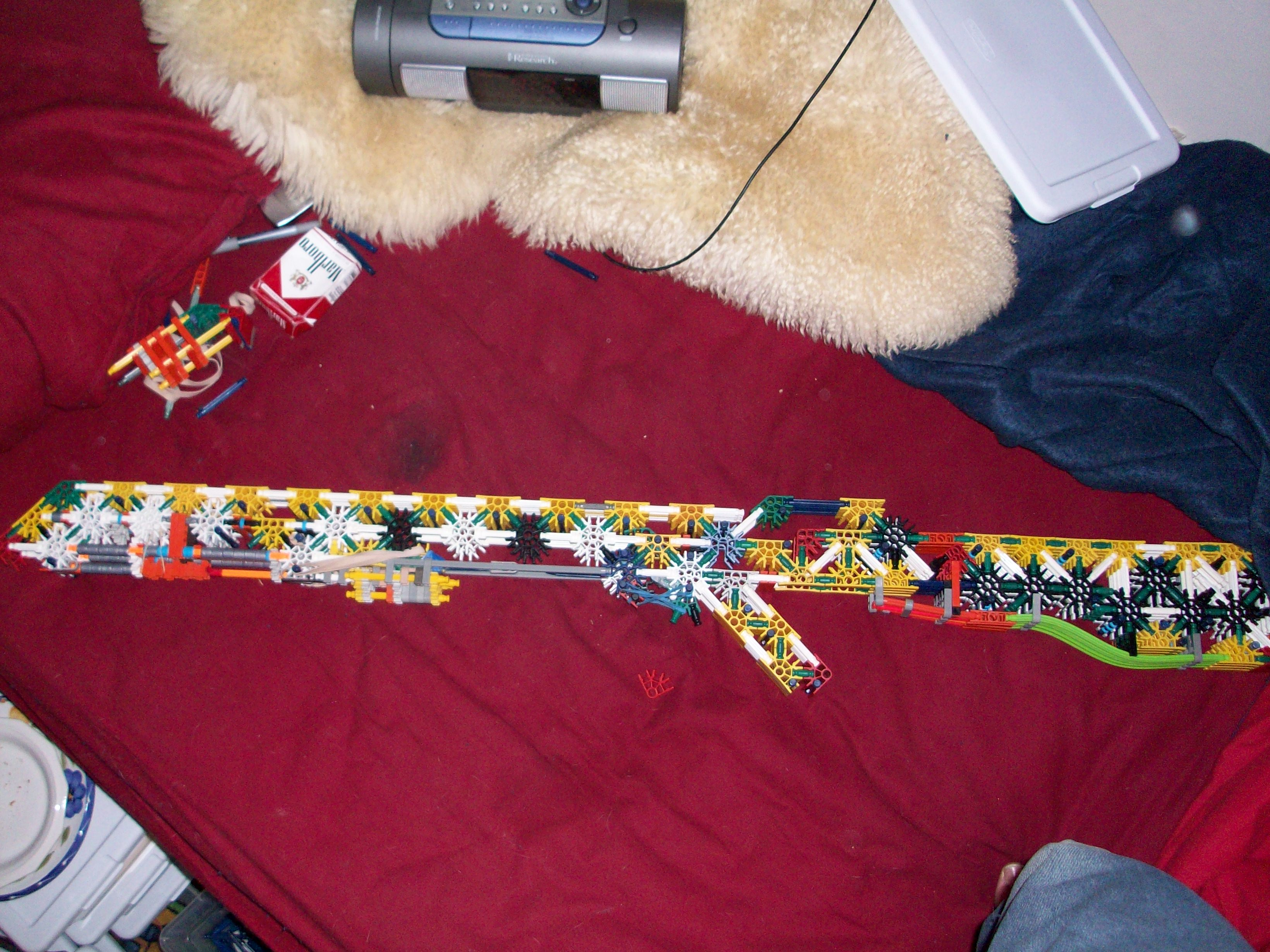 K'nex pump rifle/shotgun