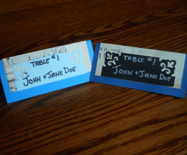 DIY Bride Guide: Music Themed PlaceCards