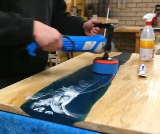 Polishing Epoxy With Toothpaste