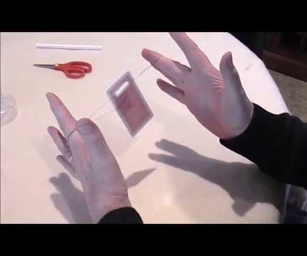 HOW TO MAKE a CARD TRAVEL MAGICALLY