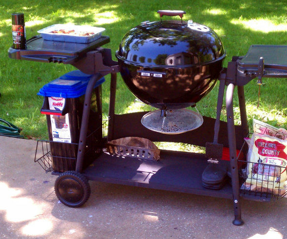 Upgraded Kettle Grill