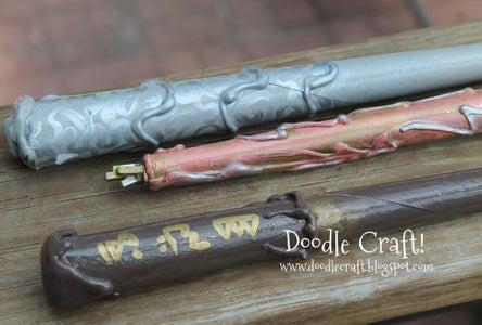 Harry Potter Wizard Magic Wands DIY!