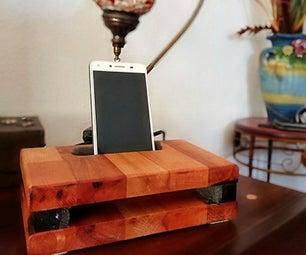 DIY声学智能手机放大器(木质被动扬声器)