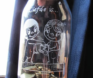 How to Engrave Glass.