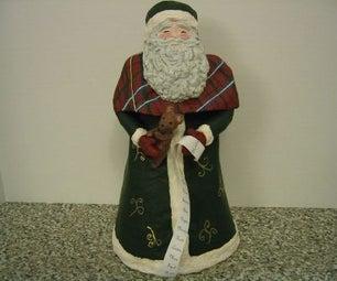 Papier Mache Santa Claus