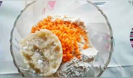 Add Grated Bottle Gourd