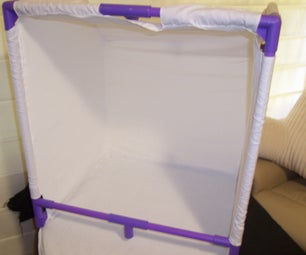 How I Turned a Soccer Goal Into a Light Tent.