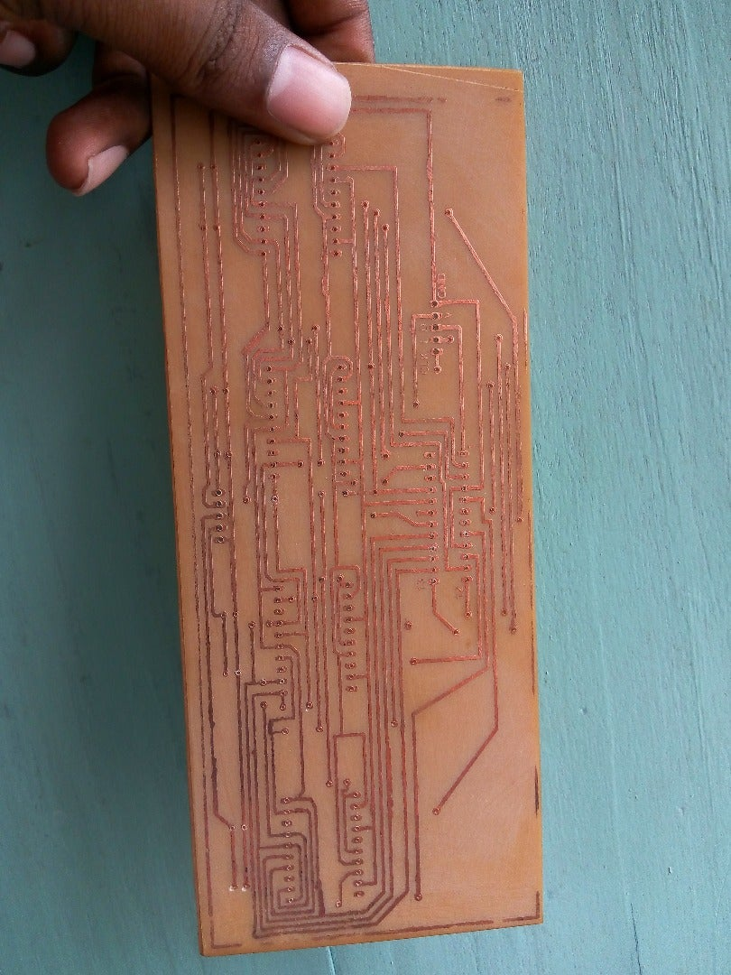 Drill the PCB