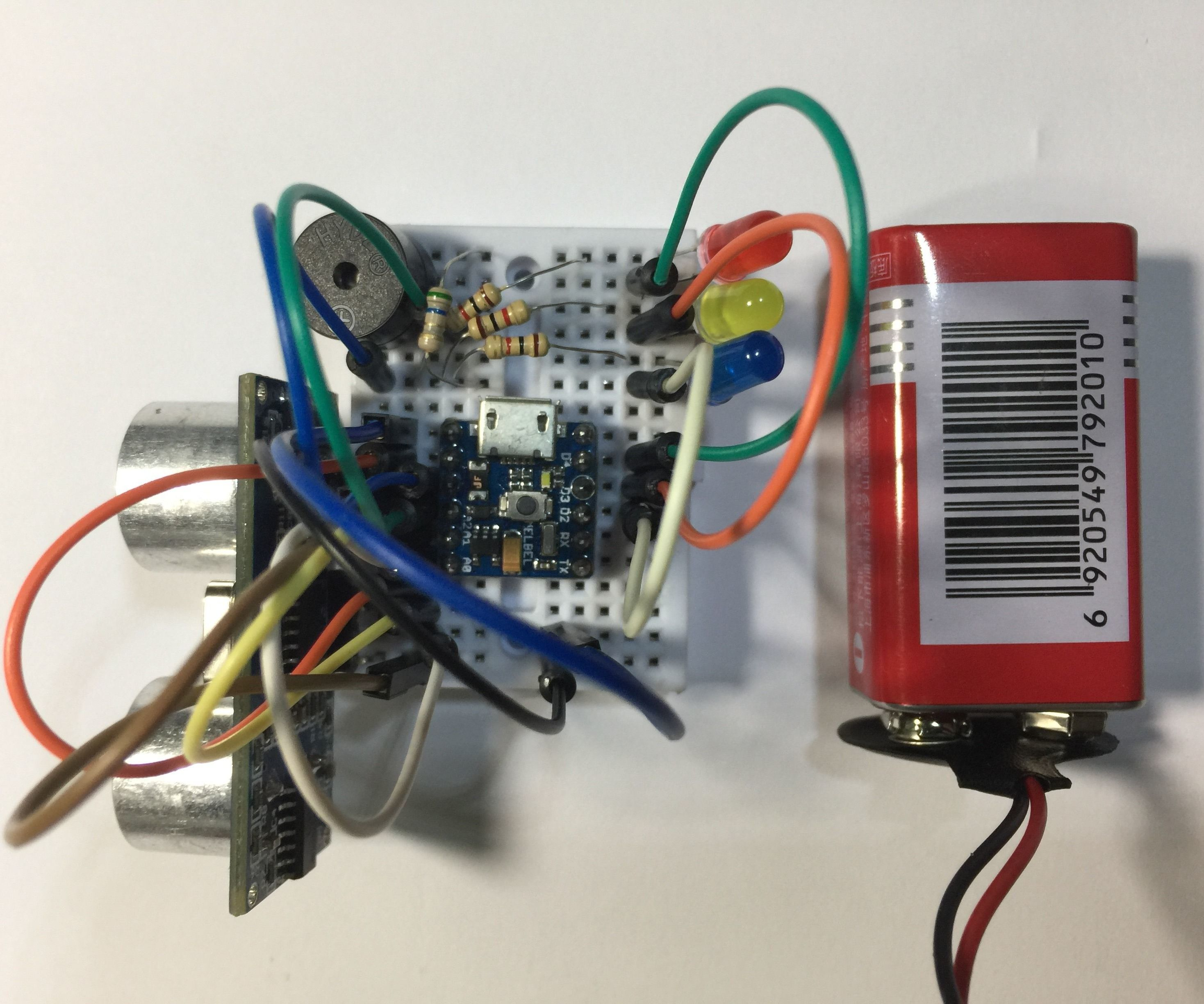 A Tiny Alarm System Using a Super Tiny Arduino Compatible Board!