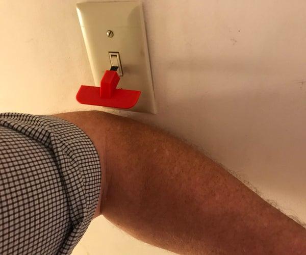 Elbow Flip Switch