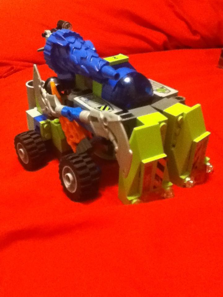 Lego 8957, 8188, And 8189 Combo Transformer: Mine Master