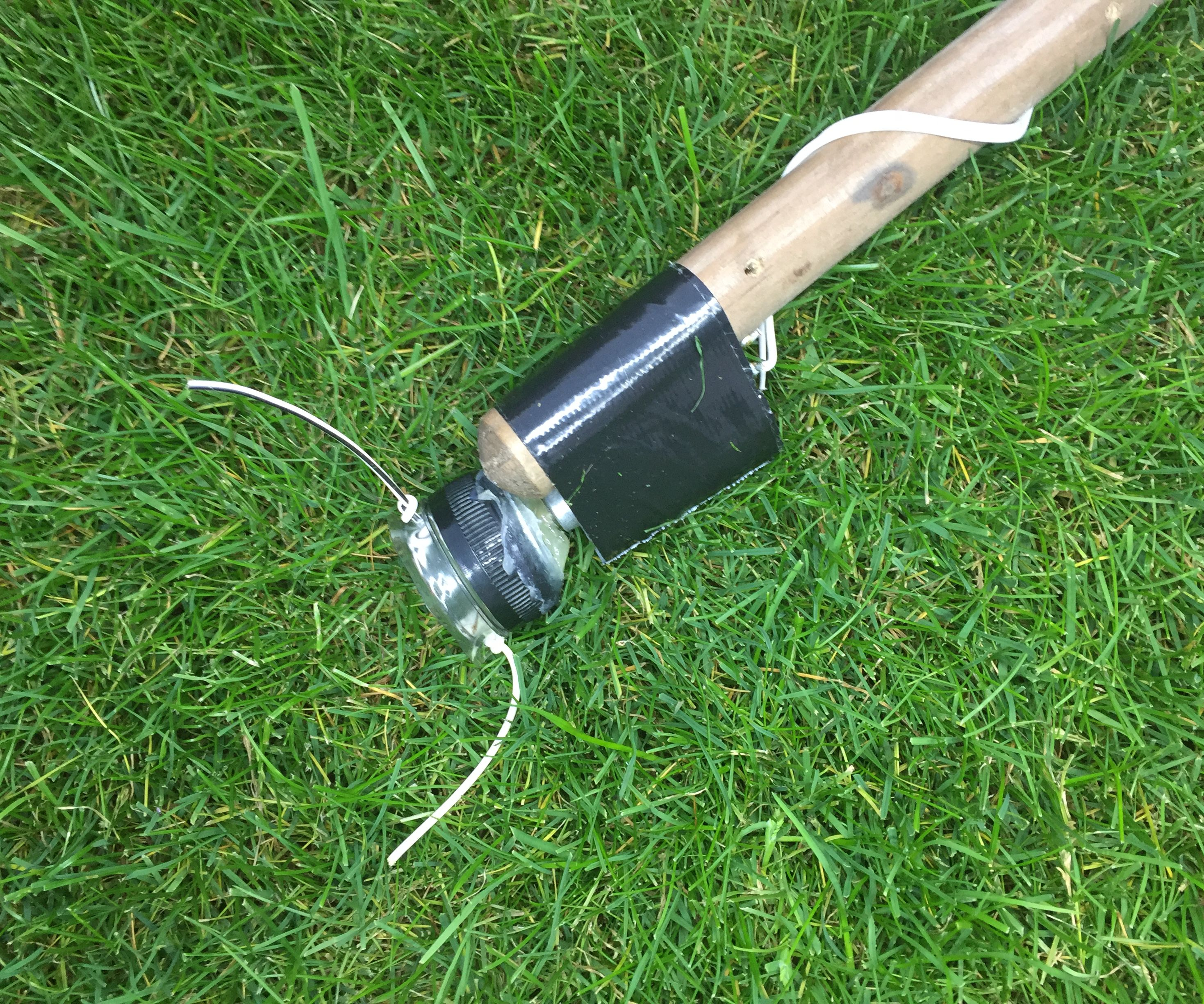 MAKE a WEED EATER / Whacker / Strimmer - on a Budget! (ALSO IN CHINEESIUM) 如何做低預算的除草機