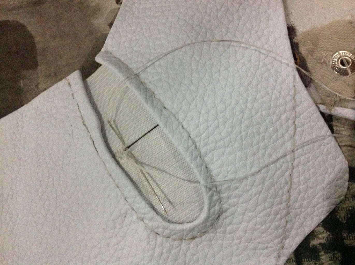 Sewing in the Elastics (side and Bottom)