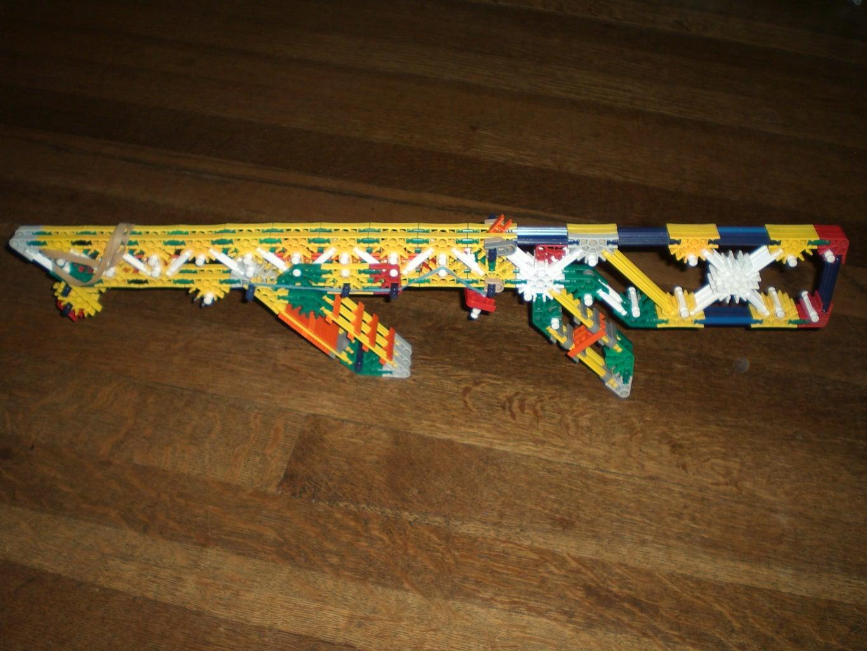 Knex Crossbows,cannons,mag Guns,shot Guns,