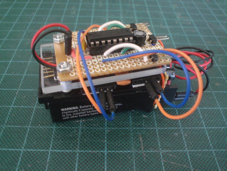 Usage Demonstration: Motors Driver Board (SN754401 IC)