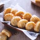 Pecorino and Parmesan Cheese Biscuits