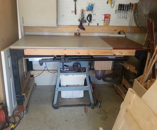 Portable Table for Your Portable Table Saw