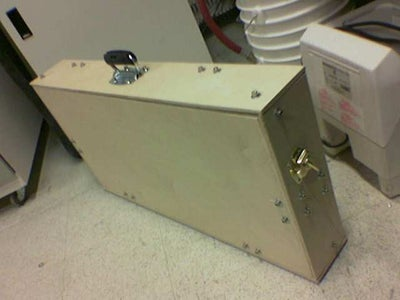 Wooden Pedalbox for Rock Shows