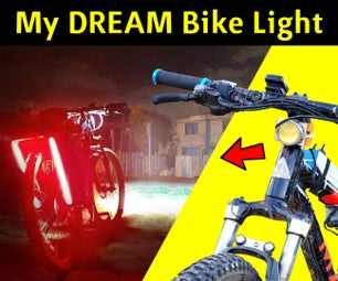 DIY Insanely Bright LED Bike Light with LED Strip Lighting (on a budget)