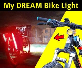 DIY Insanely Bright LED Bike Light With LED Strip Lighting (on a Budget)
