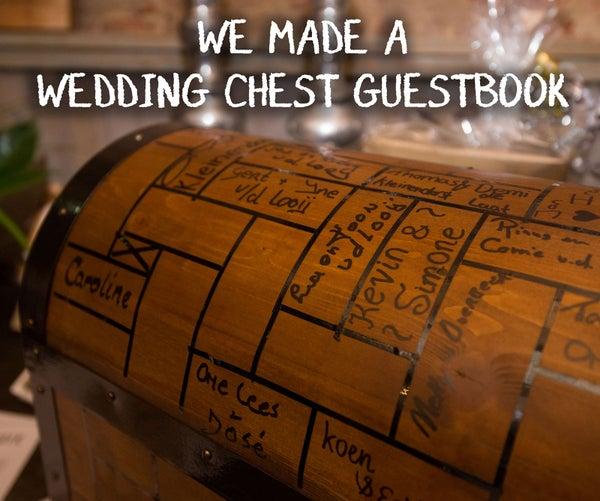Wedding Chest Guestbook