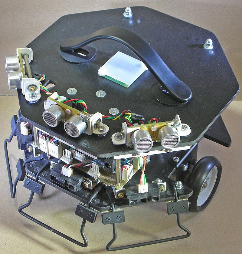 How to build a self navigating Robot