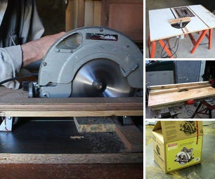 Home Made Table Saws