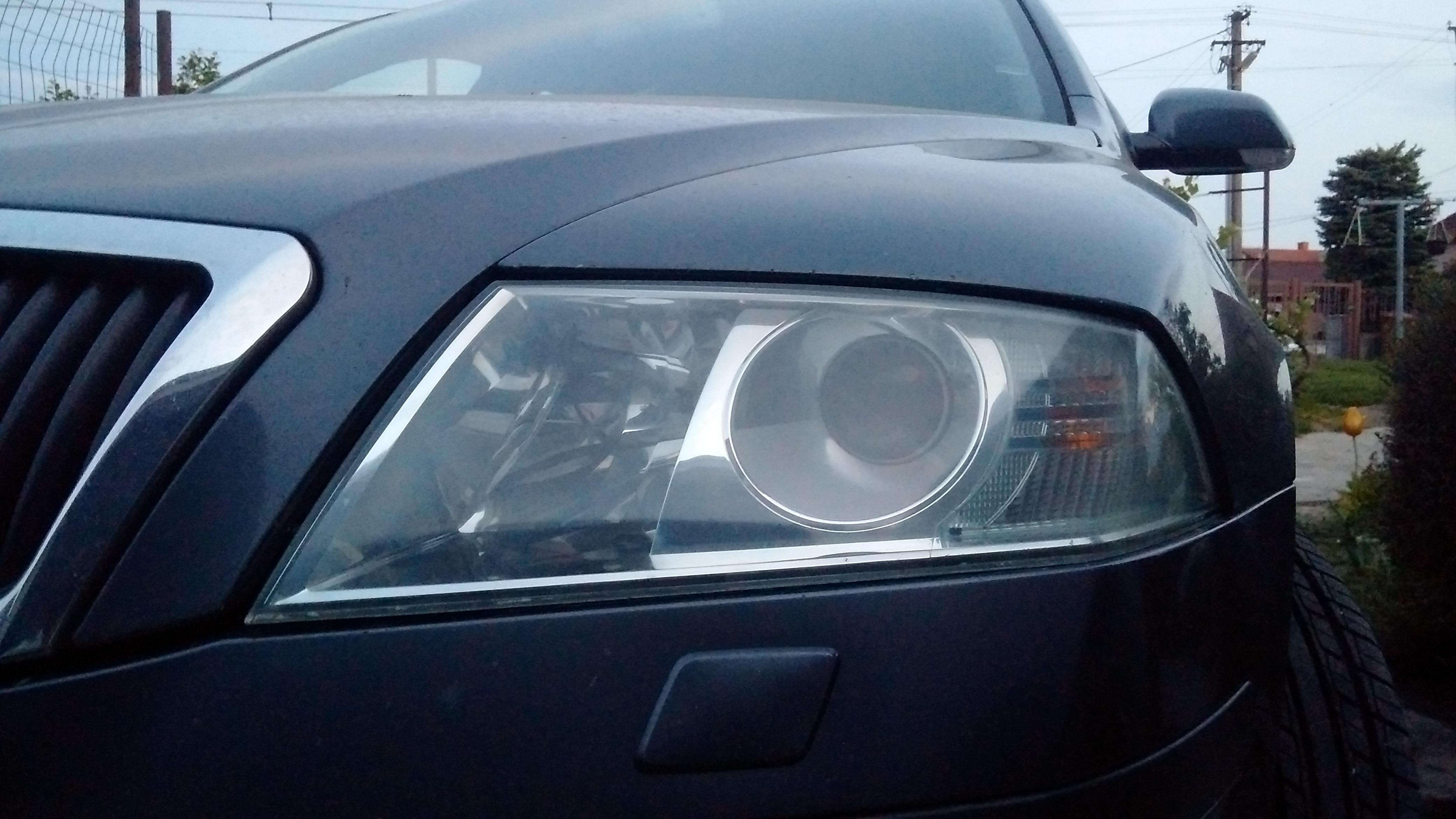 Quick Fix of Hazy Headlights