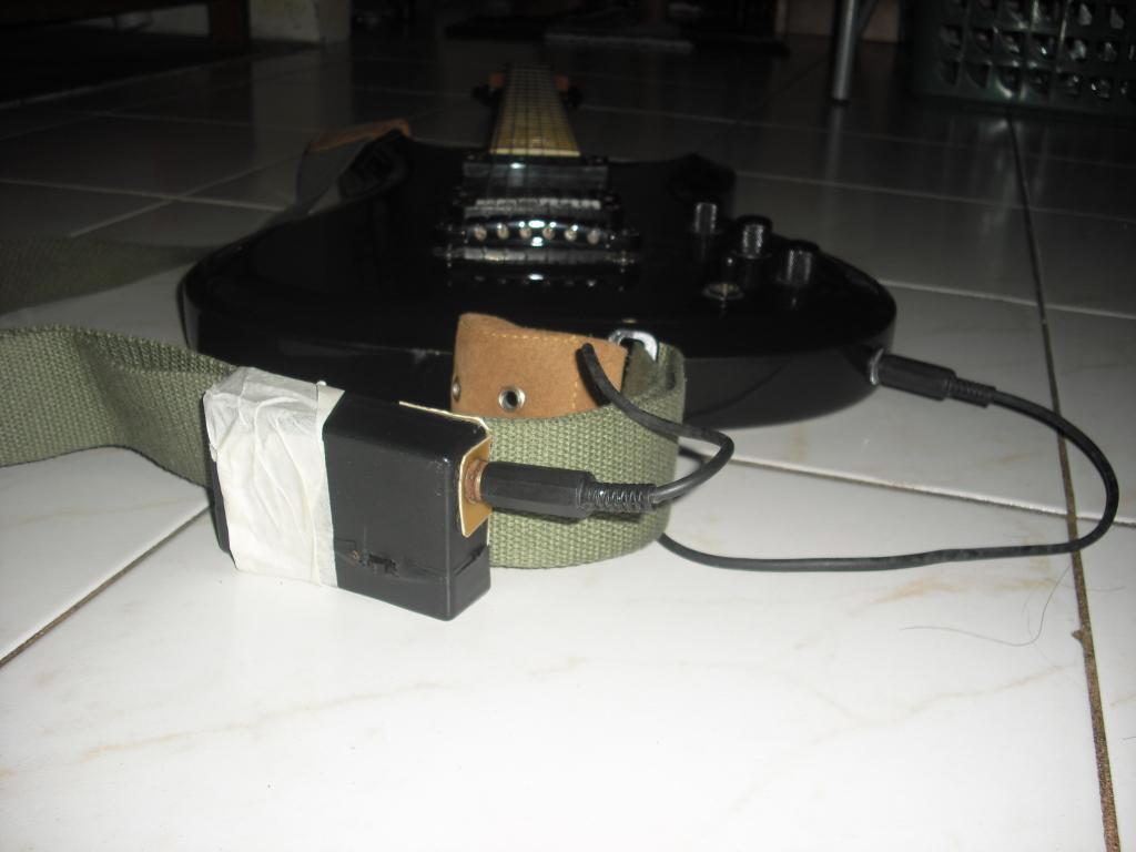 DIY wireless mic to wireless guitar system