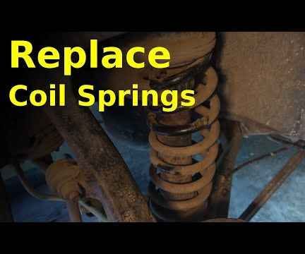 Replace Coil Springs (the LOW-COST Way)