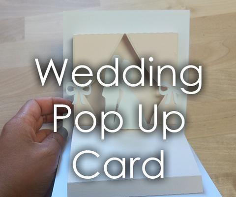 Wedding Themed Popup Card
