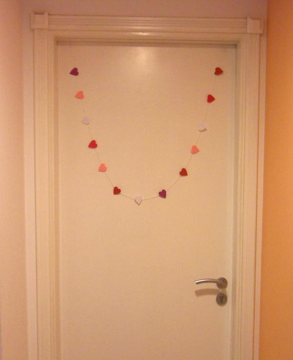 5-Minute Valentine Heart Garland