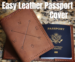 Easy Leather Passport Cover