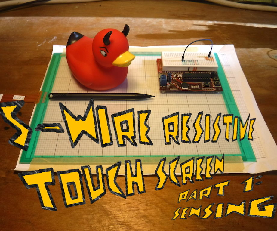 5-Wire Resistive Touch Sensor