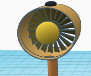 Silly Solutions - Desk Light/fan