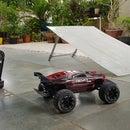 RC Car PVC Portable Folding Ramp