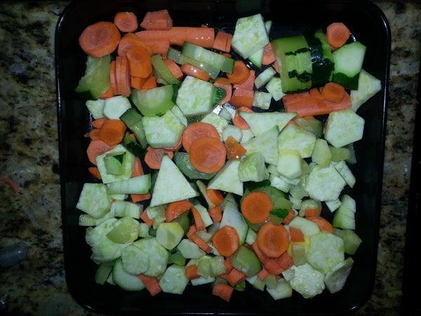 Simple Variable Soup - Veggie Soup