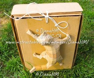Portable Cardboard Case-Storage-Cabinet-Table