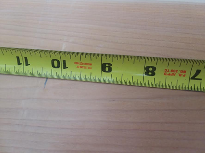 Measuring/Cutting the Sides
