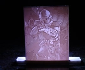 DIY Custom Lithophane Nightlight 3D Printed