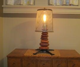 Lamp From Lake Brick