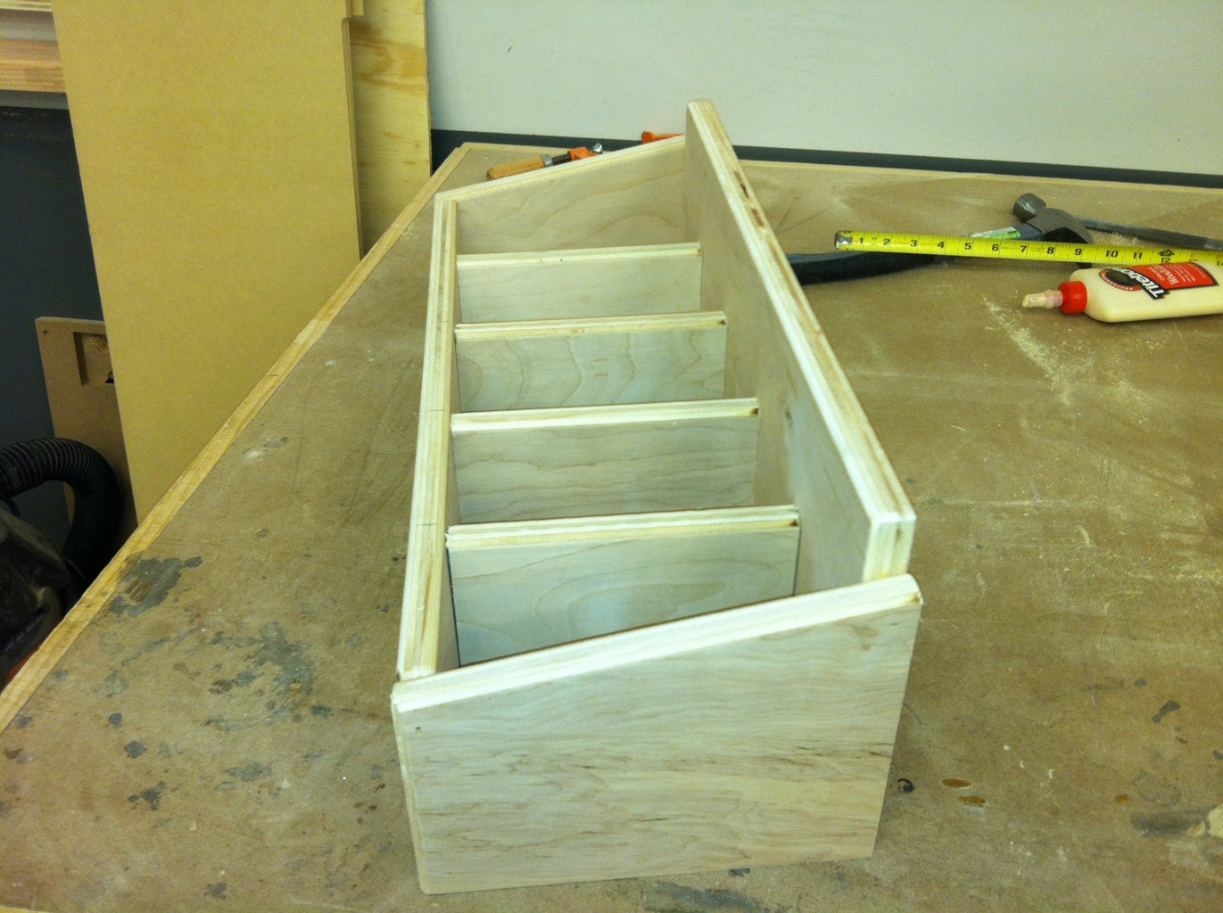 Design for a Tool Crib Caddie and Catch All.