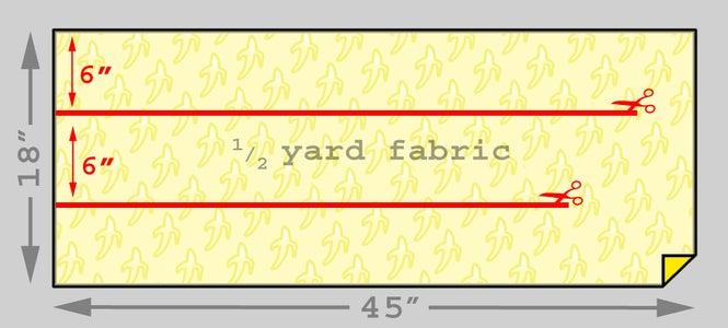 Mark and Cut Fabric