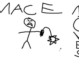 Knex Mace Moves!