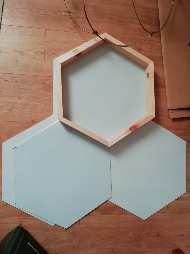 Make Wooden Hexagons