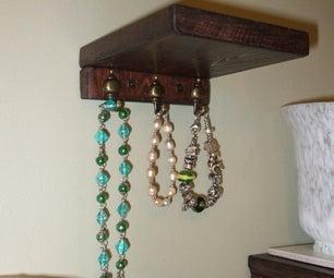Necklace Shelves