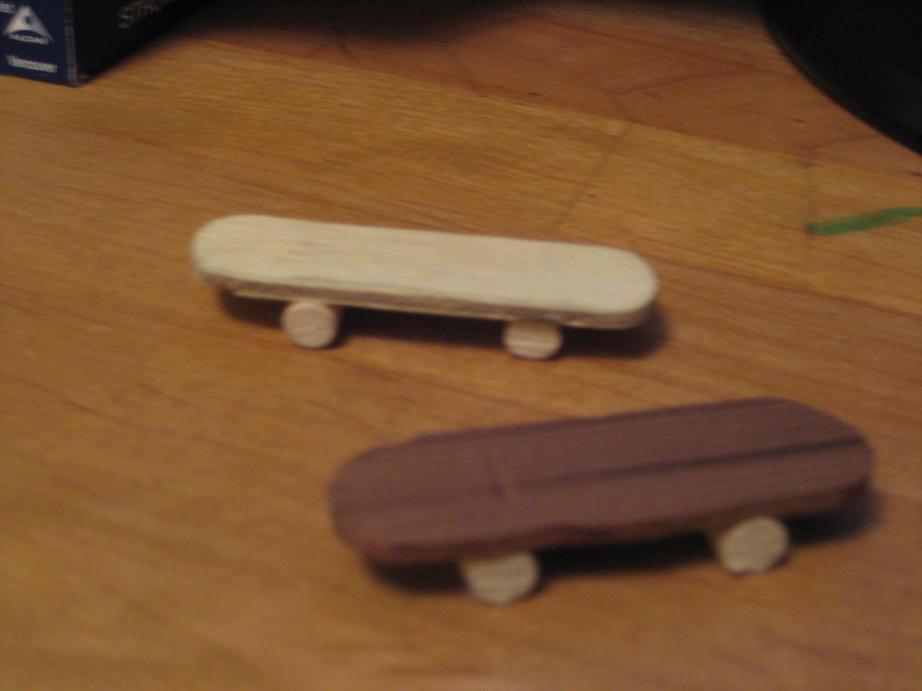 Wooden Fingerboards