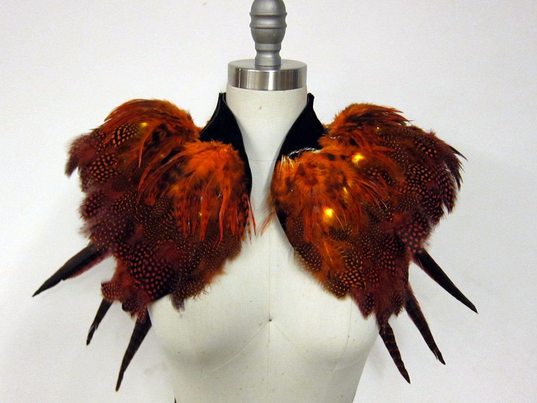Orange Feather Layer