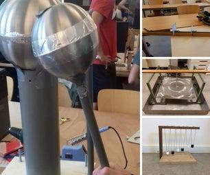 Natuurkunde Demonstraties Voor Middelbare Scholen, Gemaakt Door Eerste Jaar TU Delft Studenten