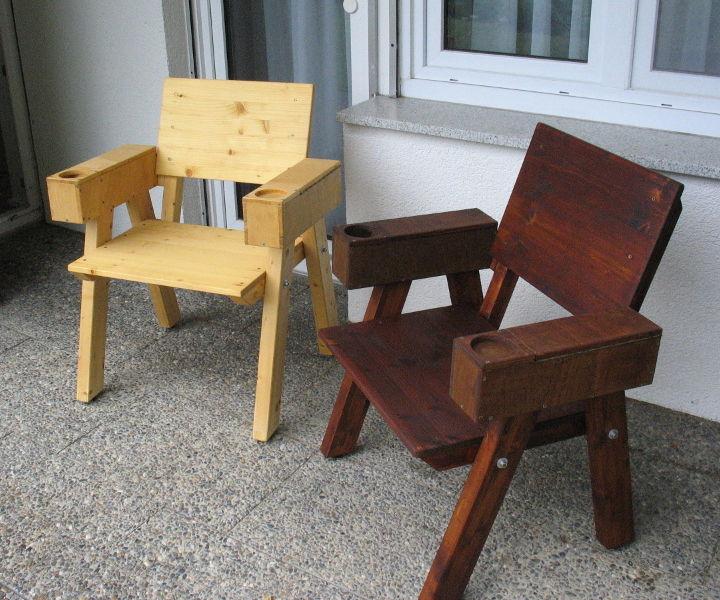 Bulletin Board Camping Chair